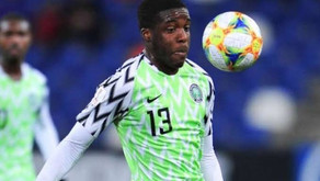 Nnambi Ofoborh: a move to Rangers might enhance his Super Eagles prospects