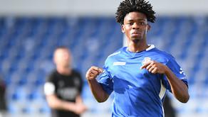 Is Marcus Abraham potentially as good as Bukayo Saka?