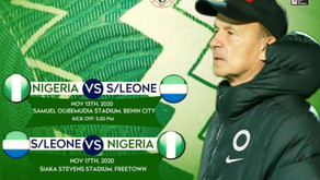 Further observations : Nigeria's 4:4 draw with Sierra Leone