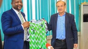Why is Sports Minister Sunday Dare being coy about his intentions regarding Rohr?