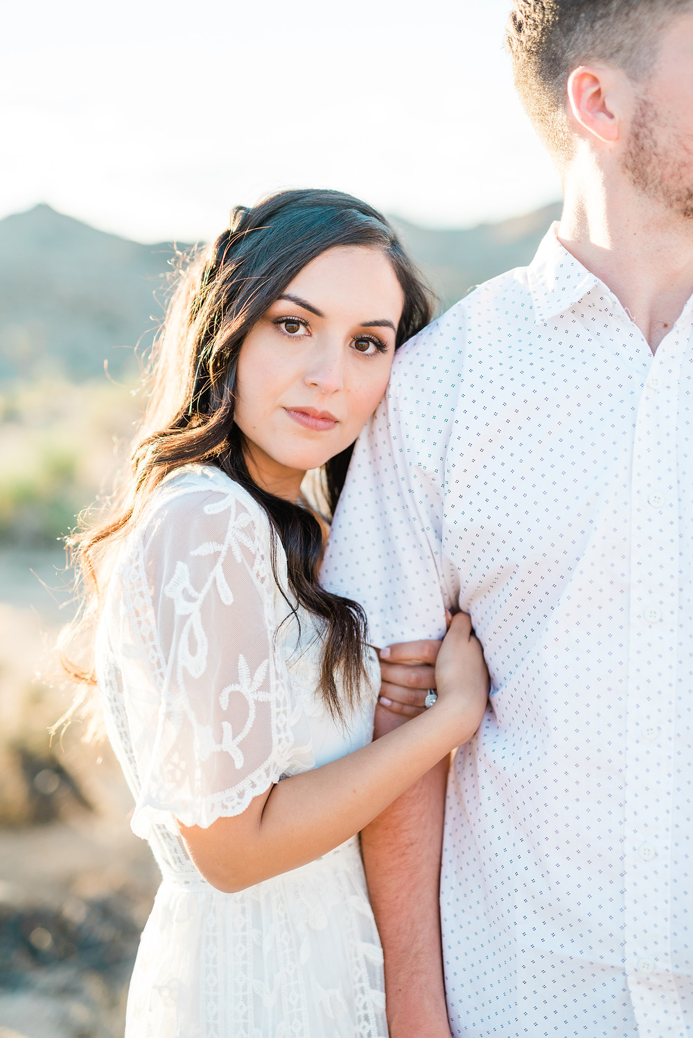 Romantic and Beautiful Joshua Tree Engagement Photos - wedding and portrait photographer