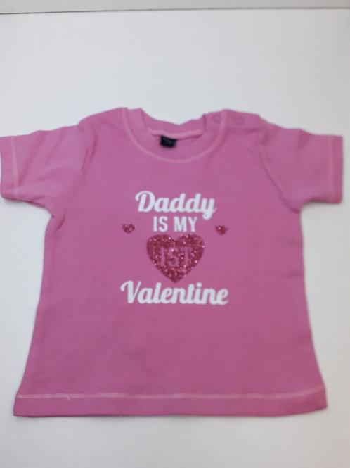 Baby T-shirt bedrukt naar keuze