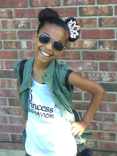 Princess Tiara Flat Bow
