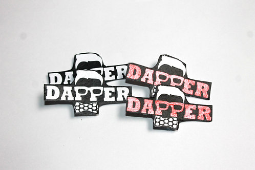 Dapper Suspender Clips
