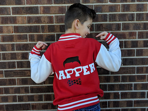 Little Dapper Varsity Jacket