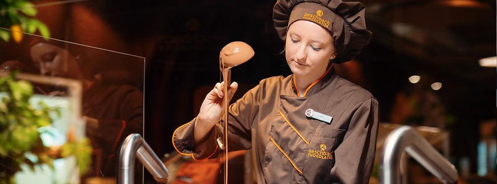 Mitarbeiter-App bei Aeschbach Chocolatier