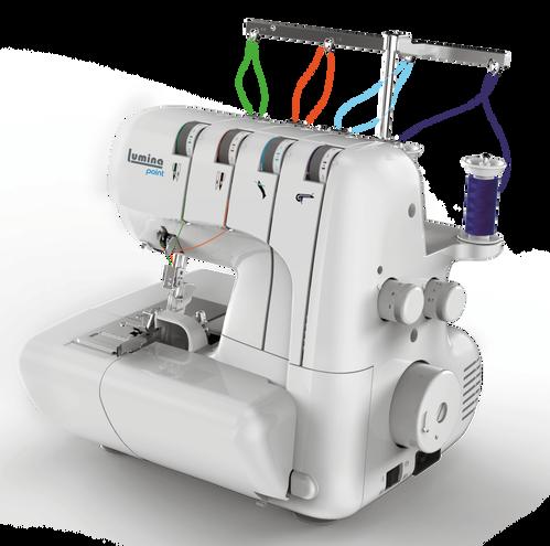 Máquina de coser overlock Lumina Point