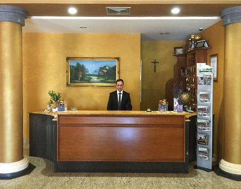 Reception Hotel San Raffaele