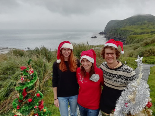 Celebrating Christmas on one of the world's most remote islands