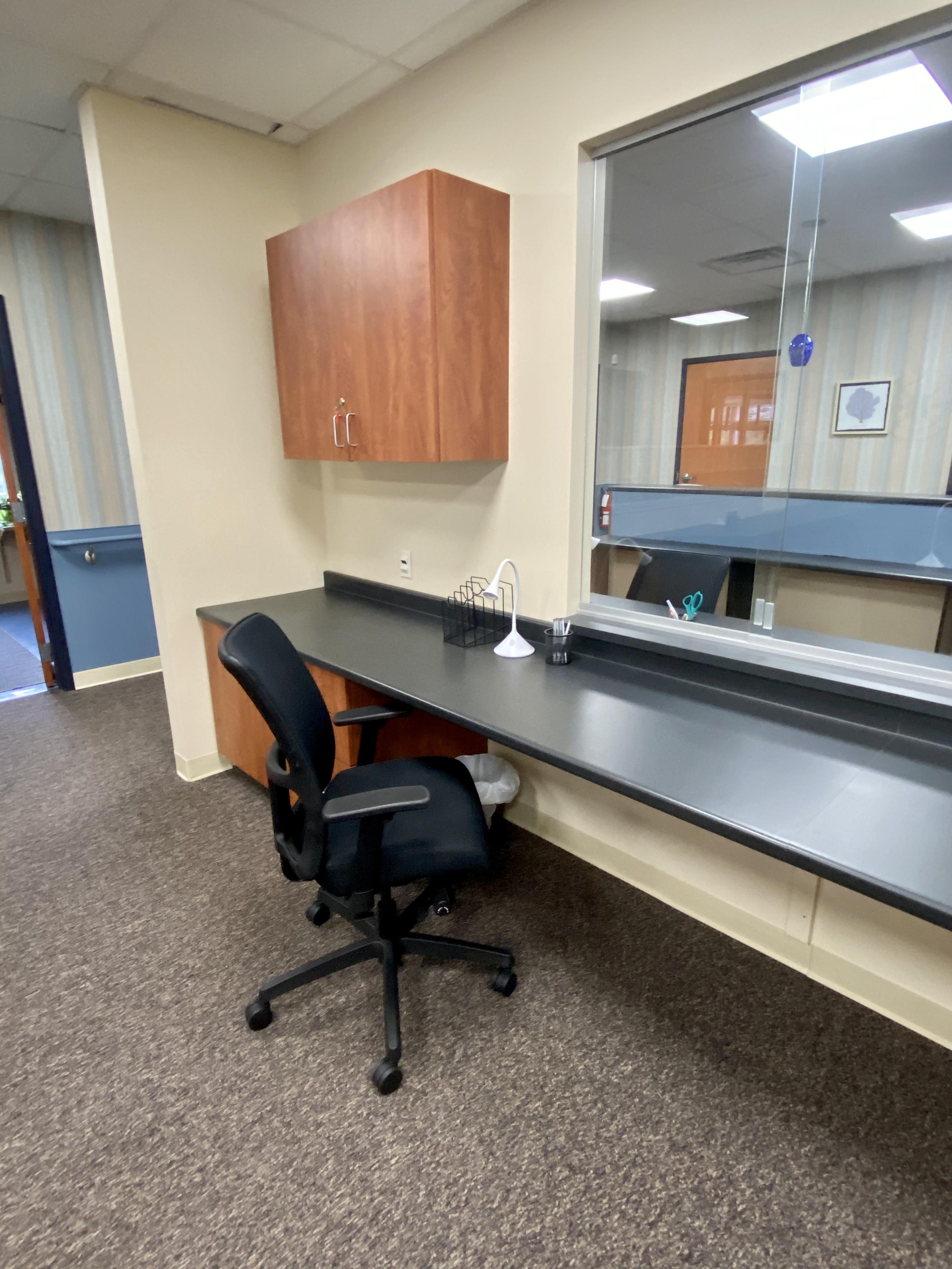 Assigned Work Desk
