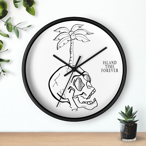 Island Time Forever Clock