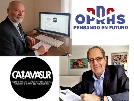 OPRAS y CALAMASUR firman acuerdo de cooperación