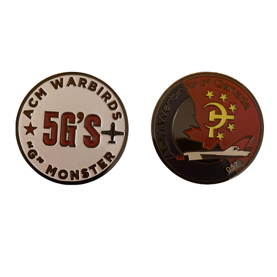 "5 G's Monster ""Challenge"" Coin"