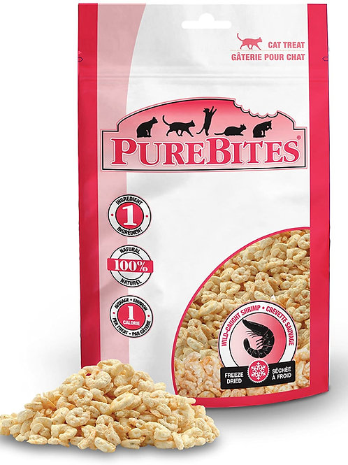 PureBites® Freeze Dried Shrimp Cat Treat .28oz / 8g Expires 10/2023
