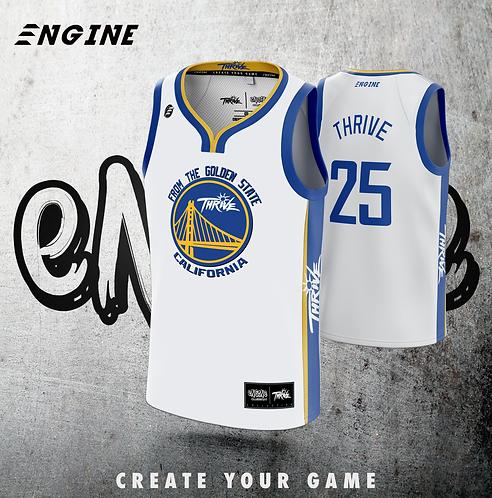 THRIVE 'CUSTOM' Golden State Basketball Jersey