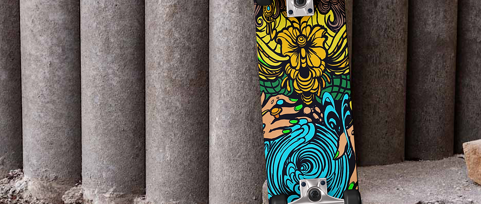 Drifting Roots 'Official Board Deck'