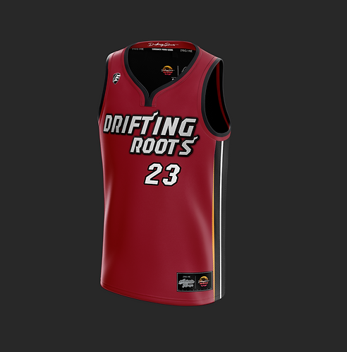 Drifting Roots 'Miami Pride' Basketball Jersey