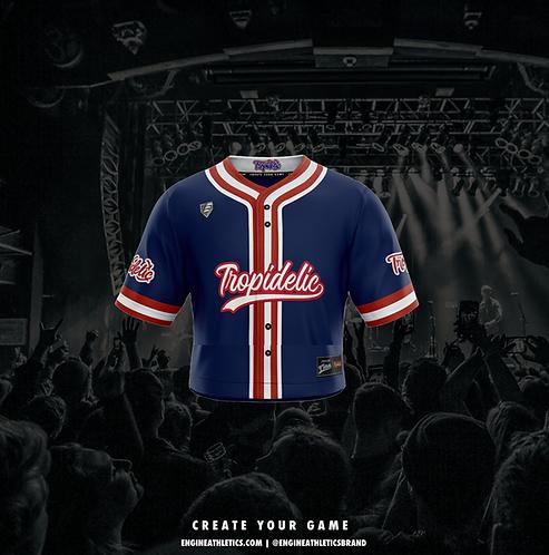 Tropidelic 'Crop Top' Baseball Jersey
