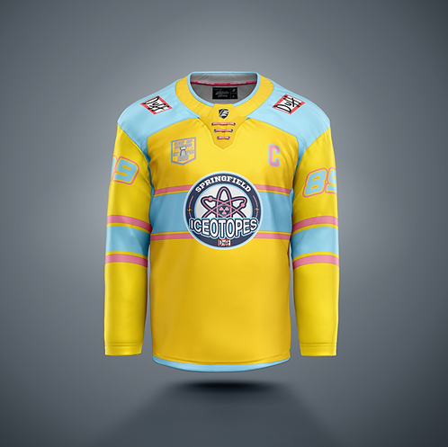 Springfield Ice'O'topes 'Official Home Jersey'