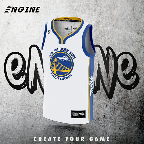 THRIVE 'Official' Golden State Basketball Jersey