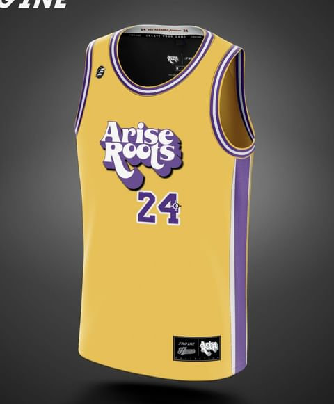 CUSTOM Arise Roots 'The Black Mamba' Official Jersey