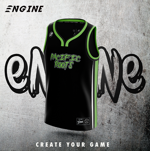 Pacific Roots 'Official' Basketball Jersey