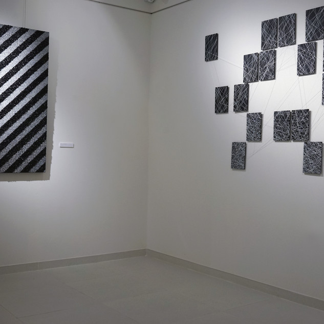 RUNNING OUT OF LINES - SOLO EXHIBITION