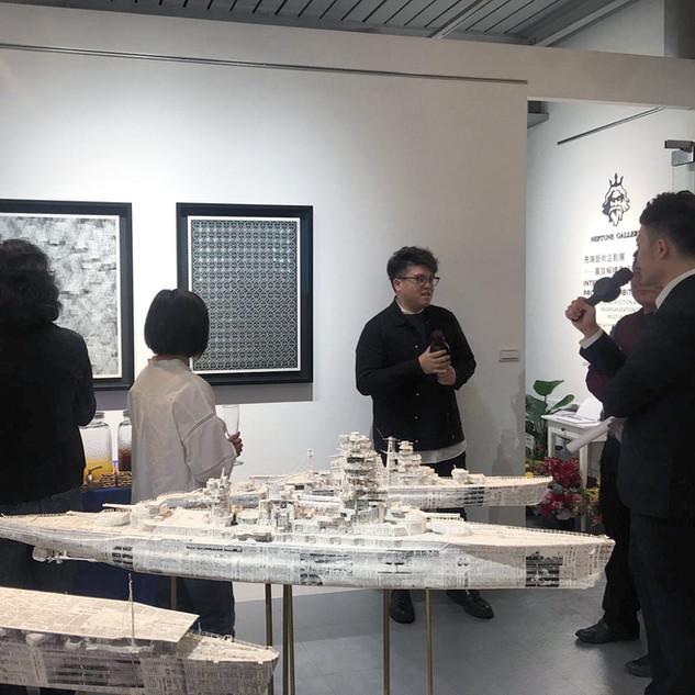 INTERMEDIA ART PROJECT EXHIBITION – DECONSTRUCTION AND REORGANIZATION OF MULTI-MATERIALS