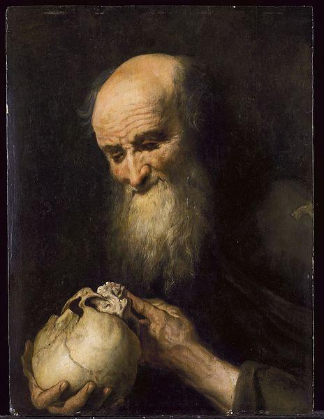 Democritis - 18th C Netherlandish Artist