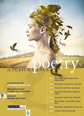 Reading (performing) poetry