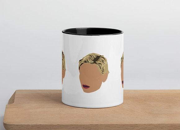 """""""Iconic"""" Mug w Colored Inside"""