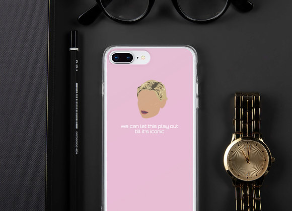 """""""Iconic"""" pink iPhone case. XSMax and earlier versions"""