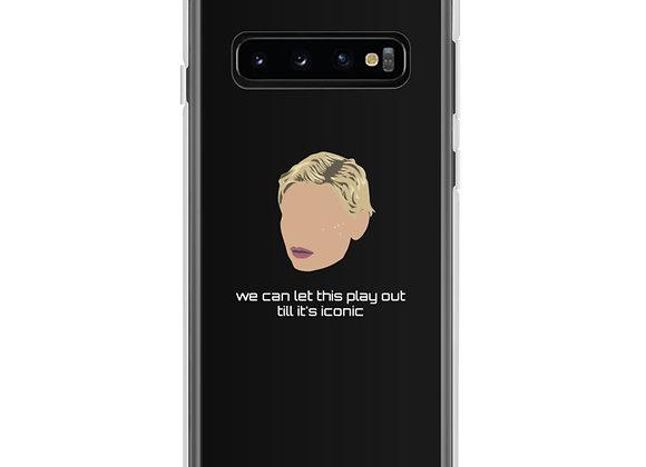 """Iconic"" black Samsung Case"
