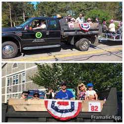 Happy 4th of July! Chatham 4th of July Parade! CCT&L employees and their families