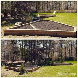Custom Garden Bed Design & Installation #capecodtreeandlandscape #brewster #gardenbedsarereadyforpla