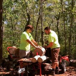 Firewood season is around the corner! #gettingteadyforwinter #logsplittersofinstagram #splitsecond #