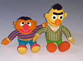 Sesame Street character Toys Ernie and Bert Talking and Movement