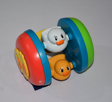 Kids Wheel Toy with Baby Ducks