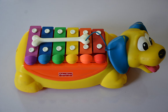 Xylophone Dog Fisher Price Piano Toy