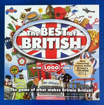 Logo best of British board game