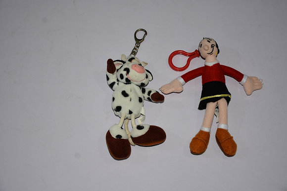 Cow and Olive Oyl