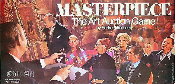 MasterPiece Auction by Parker Brothers Board Games