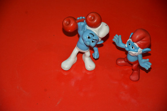 2 Pcs of Smurfs big Size