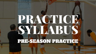 Preseason Basketball Syllabus