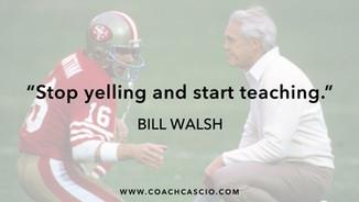 Bill Walsh on Coaching