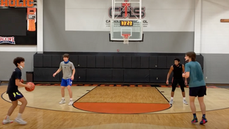 Closeout Shooting Drill