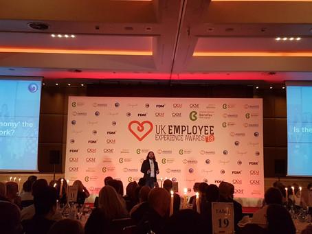 WEEI & the UK EX Awards 2018; A Partnership Built on Experience