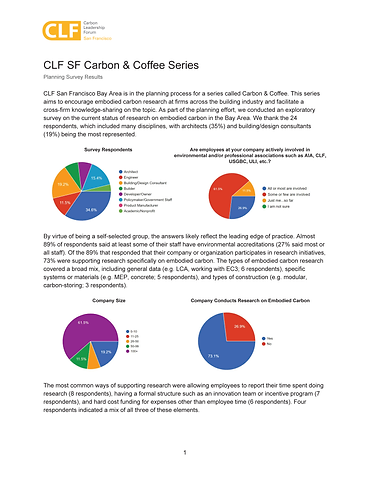 Carbon & Coffee Survey Results Flyer_Pag