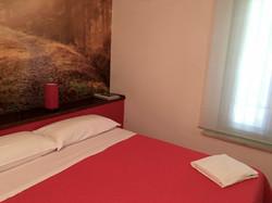 Casal Taccone appartamento gli usignoli camera