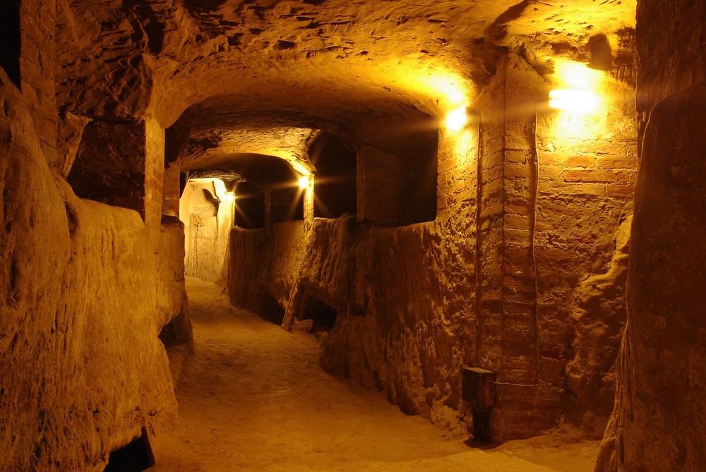 I cunicoli del labirinto di Porsenna a Chiusi